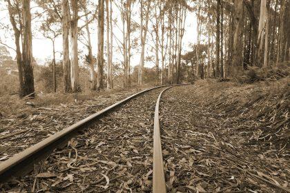 Železničná trať - rýchlik